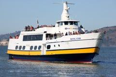 Koninklijke Sterveerboot, van de Blauwe en Gouden Vloot van schepen & boten royalty-vrije stock fotografie