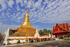 Koninklijke Tempel in Thailand Stock Afbeelding