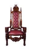 Koninklijke troon Royalty-vrije Stock Afbeelding