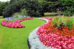 Koninklijke tuin Royalty-vrije Stock Foto's