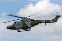 Koninklijke van de Korpsenwestland van de Legerlucht de Lynxah7 Helikopter royalty-vrije stock afbeelding