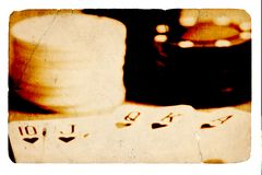 Koninklijke Vloed Stock Foto