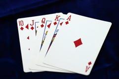 Koninklijke Vloed - Diamanten Stock Afbeelding