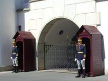 Koninklijke wachten Stock Foto's
