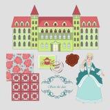 Koninklijke woonplaats Stock Afbeelding