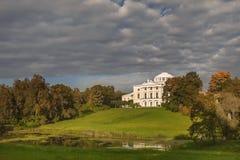 Koninklijke Woonplaats in Pavlovsk Park, St. Petersburg, Rusland Royalty-vrije Stock Afbeeldingen