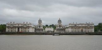 Koninklijke zeeuniversiteit, Greenwich stock fotografie