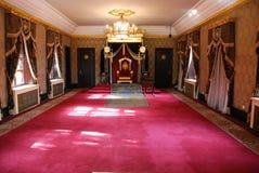 Koninklijke Zetel Royalty-vrije Stock Foto's