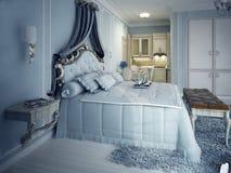Koninklijke zitslaapkamers Exclusief meubilair Stock Foto's