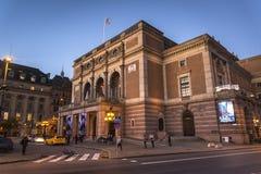 Koninklijke Zweedse Opera, Norrmalm, Stockholm, Zweden stock afbeeldingen