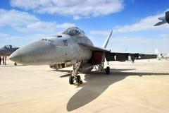 Koninkrijk van Bahrein â 21 Januari: F-15C MEERDERE Stock Fotografie