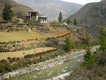 Koninkrijk van Bhutan stock afbeelding