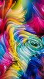 Koninkrijken van Vloeibare Kleur vector illustratie