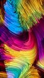 Koninkrijken van Vloeibare Kleur stock illustratie