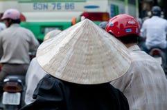 Konischer Hut, Vietnam Stockfotografie