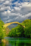 Konitsa bridge Royalty Free Stock Photos