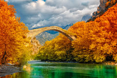 Konitsa bridge Royalty Free Stock Photography