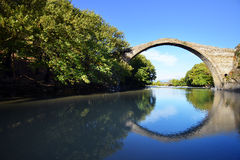 Konitsa bridge, Greece Stock Photos