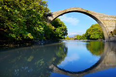 Konitsa bridge, Greece Stock Image