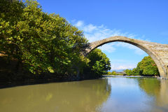 Konitsa bridge, Greece Stock Photography