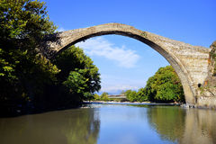 Konitsa bridge Stock Photos