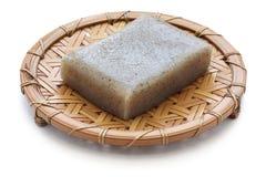 Konjac, konnyaku, comida japonesa de la dieta sana Imágenes de archivo libres de regalías