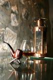 konjakexponeringsglas Royaltyfria Foton