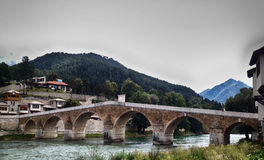Konjic bridge Royalty Free Stock Image