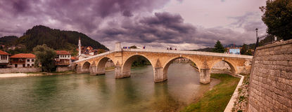 Konjic bridge Royalty Free Stock Photo