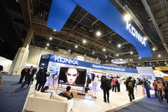 KONKA at CES 2016 Stock Images