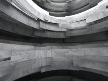 Konkret abstrakt väggarkitekturbakgrund Arkivbilder