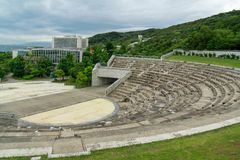 Konkret amfiteater Arkivbilder