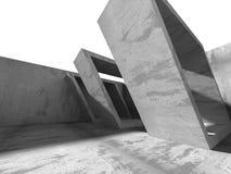 Konkret bakgrund för abstrakt begrepp för arkitekturväggkonstruktion Royaltyfria Foton