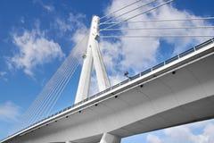 Konkret bro, en av många broar av Porto Royaltyfri Fotografi
