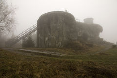 Konkret bunker arkivfoto