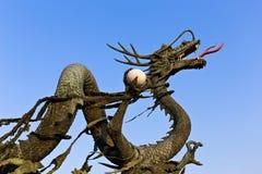 Konkret drakestaty Arkivbilder
