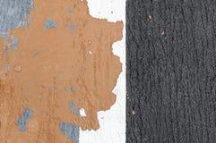 Konkret förfallfärg Arkivfoto