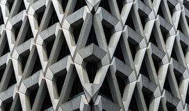 Konkret fasad av den London parkeringshuset Fotografering för Bildbyråer