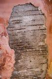 konkret gammal vägg Arkivbild