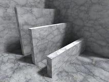 Konkret geometrisk arkitekturabstrakt begreppbakgrund Arkivfoto