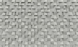 konkret geometrisk bakgrund 3d royaltyfri illustrationer