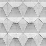 Konkret geometrisk sömlös modell arkivfoto