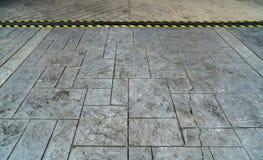 Konkret golvmodell Arkivfoto