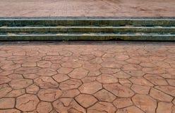 Konkret golvmodell Arkivbild