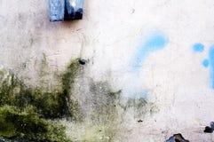 konkret grungevägg Arkivfoto
