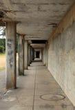 Konkret korridor royaltyfria bilder