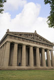 Konkret normalformat kopia av Parthenontemplet i Nashville Tennessee Royaltyfri Foto
