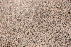 Konkret polerad granitstendekor Royaltyfri Foto