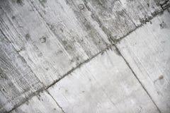 Konkret rå vägg med wood textur Royaltyfria Foton