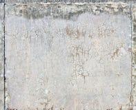 konkret riden ut texturvägg Arkivfoton